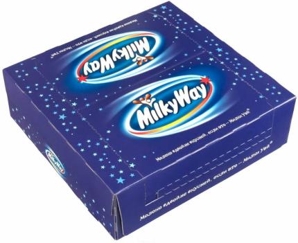 Батончик Milky Way шоколадный 26 г 36 штук