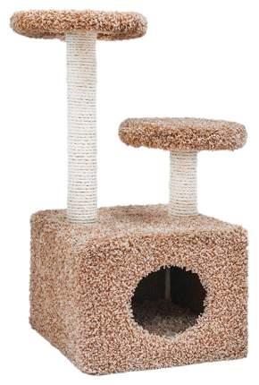 Комплекс для кошек Дарэлл тумба квадрат с двумя полками для кошек 37 х 58 х 76 см