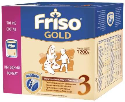 Молочная смесь Friso Gold 3 с 12 мес. 1200 г
