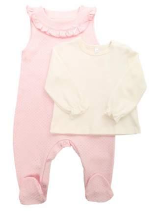 Комплект одежды детский Soni Kids Розовый р.62