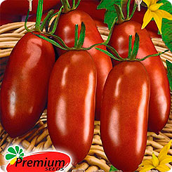 Семена Томат Черри Шоколадные пальчики F1, 0,05 г, Premium seeds