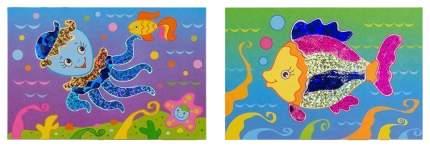 Аппликация Дрофа-Медиа Рыбка и осьминог
