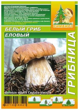 Мицелий грибов Грибница субстрат микоризный Белый гриб Еловый, 1 л Симбиоз