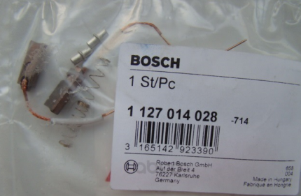 Щетка генератора Bosch 1127014028