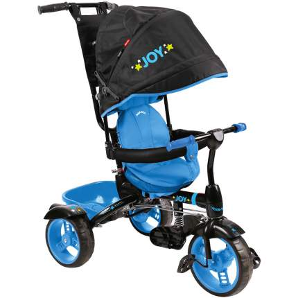 Велосипед трехколесный Nika ВД4/3 черный с голубым