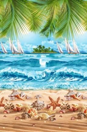 Пляжное полотенце Текс-Дизайн разноцветный