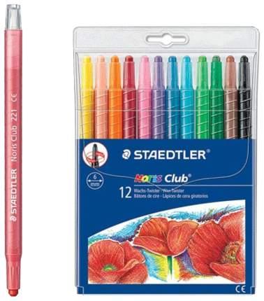 Мелки восковые Staedtler Norisclub 12 цветов