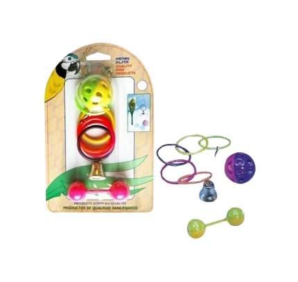Игрушка для птиц Penn Plax Кольца мяч и штанга BA524