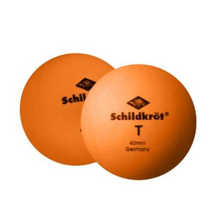 Мячи для настольного тенниса Donic 1T-Training оранжевые, 6 шт.