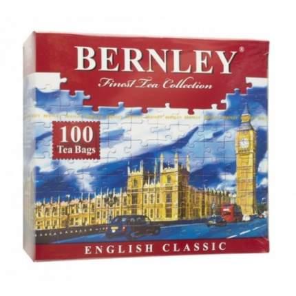 Чай черный в пакетиках для чашки Bernley english classic 100*2 г