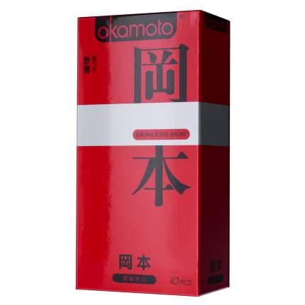 Презервативы Okamoto Skinless Skin Super Thin 10 шт.