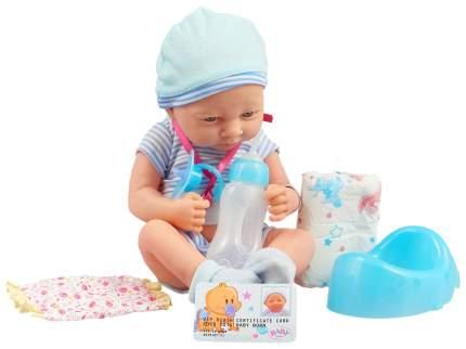 Пупс Junfa toys в наборе с аксессуарами, 2 вида в ассортименте, 33,5x27x16,5 см