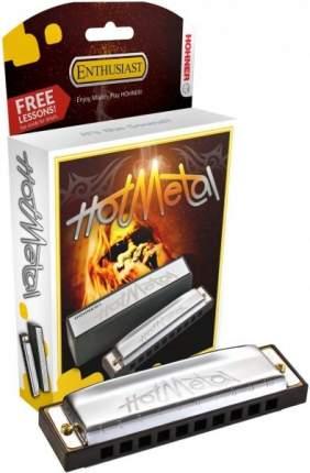 Губная гармоника диатоническая HOHNER Hot Metal D