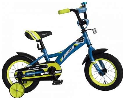 Детский велосипед двухколесный Navigator Bingo голубой