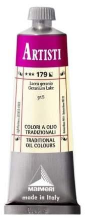 Масляная краска Maimeri Artisti 179 гераневый лак 60 мл