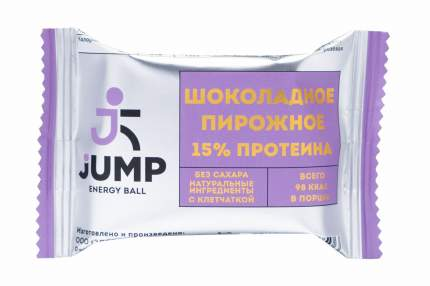 Протеиновая конфета Energy Ball Jump 30 г шоколадное пирожное