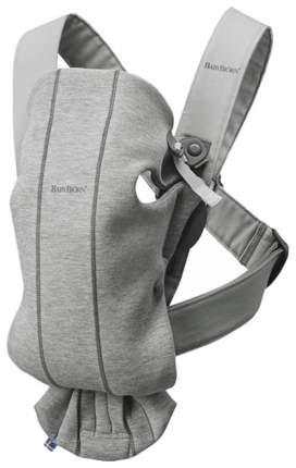 Рюкзак для новорожденных Babybjorn Mini Cotton Jersey Светло-серый