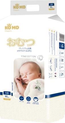 Подгузники для новорожденных Ko Mo NB (0-5 кг) 88 шт.