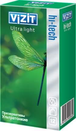 Презервативы Vizit Hi-Tech Ultra light 12 шт.