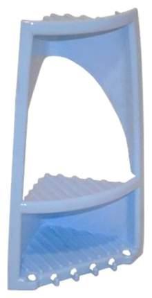 Полка для ванной BranQ Угловая 2 яруса Голубой пастельный BQ1684ГЛП