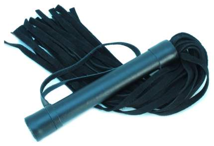 Плеть BDSM Арсенал из замши с петлей 45 см черный