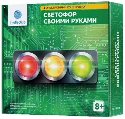 Конструктор электронный Intellectico Светофор своими руками 1104