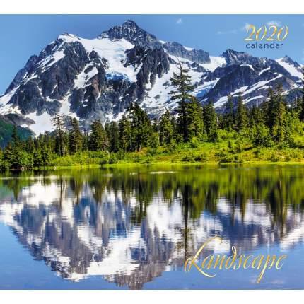 Календарь 2020 Гармония природы (скрепка), КС122006