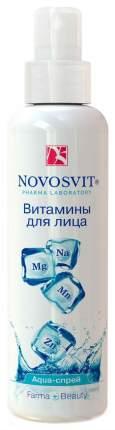 Спрей для лица Novosvit Витамины для лица 190 мл