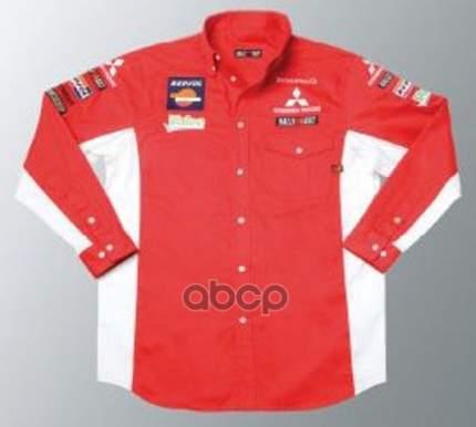 Рубашка rally art Mitsubishi MME50185 красная размер l