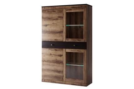 Платяной шкаф Hoff Jagger 80321038 100,2х35,3х159,8, дуб монастырский/чёрный