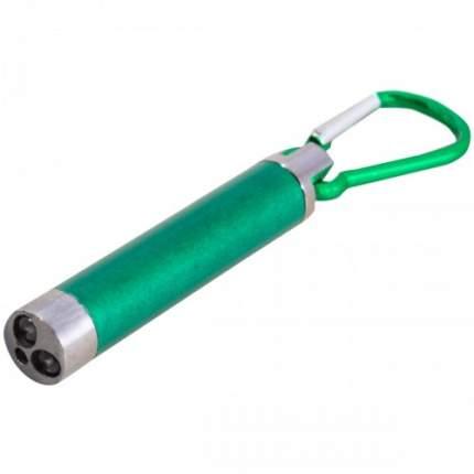 Игрушка для кошек VS, лазерная указка с фонариком и карабином, зеленая