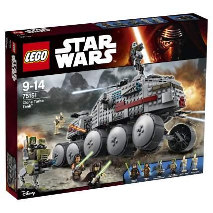 Конструктор LEGO Star Wars Турботанк Клонов (75151)