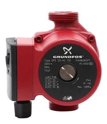 Насос циркуляционный Grundfos UPS 20-40 130 96281371