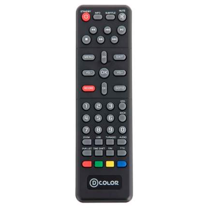 DVB-T2 приставка D-Color DC802HD Black