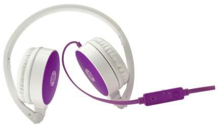 Наушники HP H2800 White/Violet