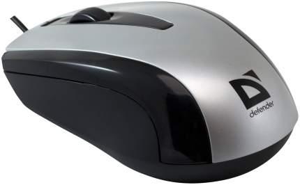 Проводная мышка Defender Optimum MM-140 Silver (52140)