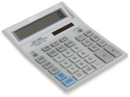 Калькулятор CiTiZEN SDC-888XWH Белый, серый