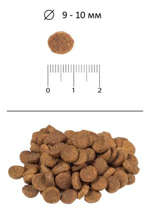 Сухой корм для кошек BLITZ, курица, 0,4кг