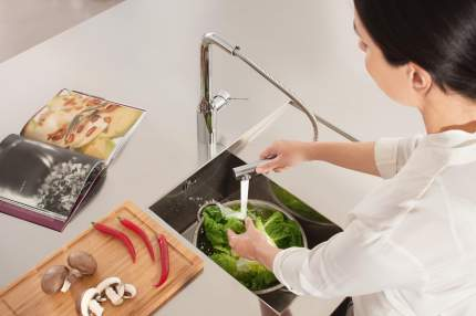 Смеситель для кухонной мойки Grohe Essence New 30270000 металл
