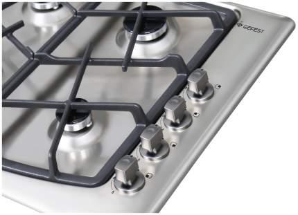 Встраиваемая варочная панель газовая GEFEST СН 1211 К30 Silver