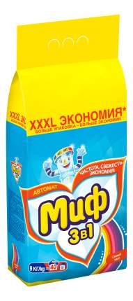 Порошок для стирки Миф свежий цвет автомат 9 кг