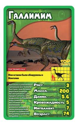 Семейная настольная игра TOP TRUMPS Козырные карты - Динозавры