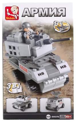 Конструктор пластиковый Sluban M38-B0537B Армия 110 деталей