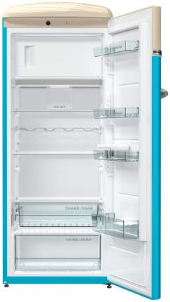 Холодильник Gorenje OBRB153BL Beige/Light blue