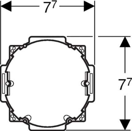 Блок питания GEBERIT HyTronic, 115.861.00.1 для электронной системы смыва унитаза