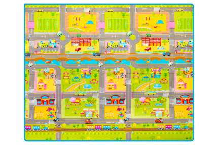 Двухсторонний коврик Parklon Prime Living Мишка на каникулах/Дороги