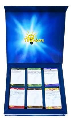 Семейная настольная игра Thinkers 210 заданий