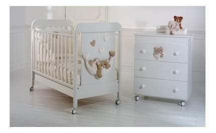Комод детский Baby Expert Tenerone by Trudi белый