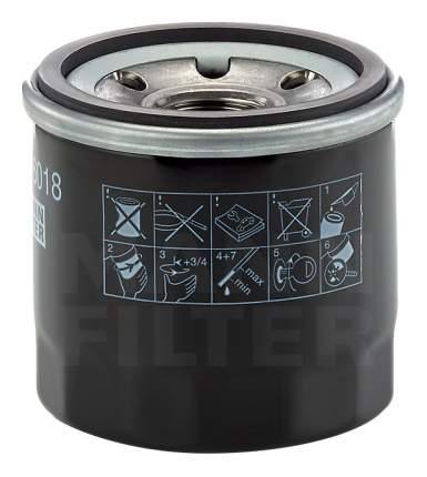 Фильтр масляный двигателя MANN-FILTER W6018