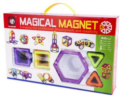 Конструктор магнитный Shantou Gepai Magical Magnet 40 деталей 702